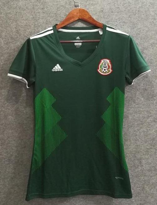 Camiseta Para Mujer Seleccion De Mexico 2018 Chicharito -   44.990 ... 92a941a6d6a36