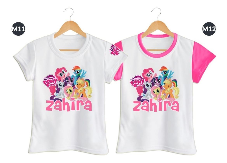 8f1b10b17 Camiseta Para Niña Little Pony Personalizada En Poliester