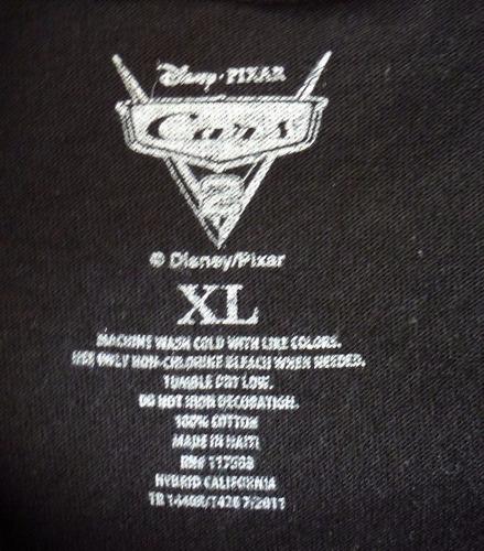 camiseta para niño car's ii