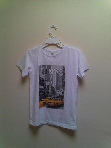 camiseta para niño marca federation original  talla 12