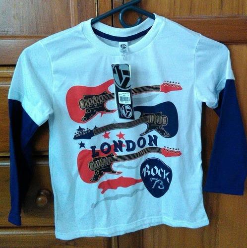 camiseta para niño talla 8 nueva