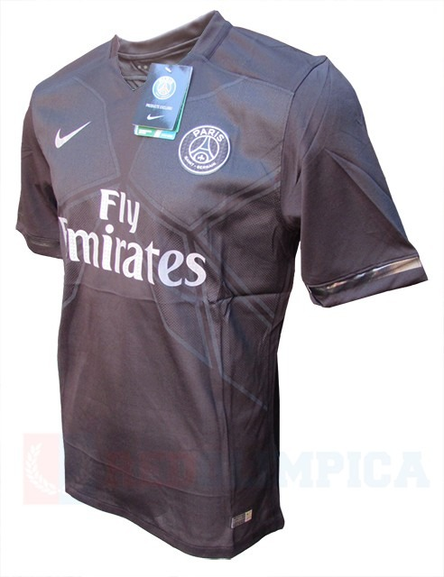 Camiseta Paris Saint Germain Psg Negra 2016 -   749 7126e00fe2350