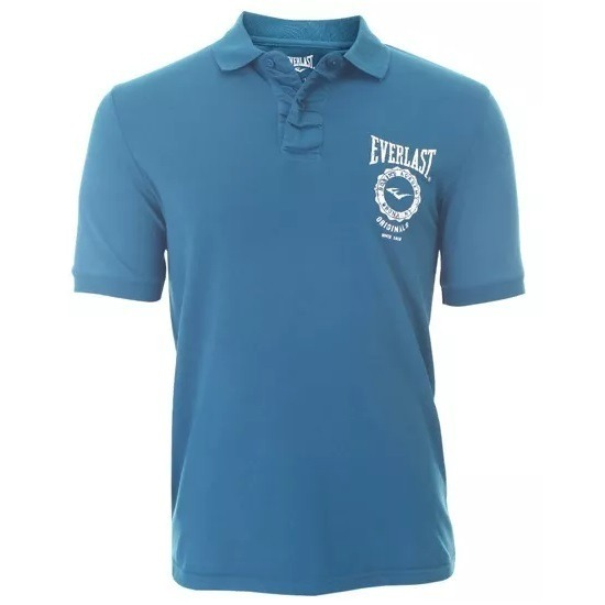 70f53751f8 Camiseta Passeio Everlast Polo Masculina Marinho Tamanho P - R  39 ...
