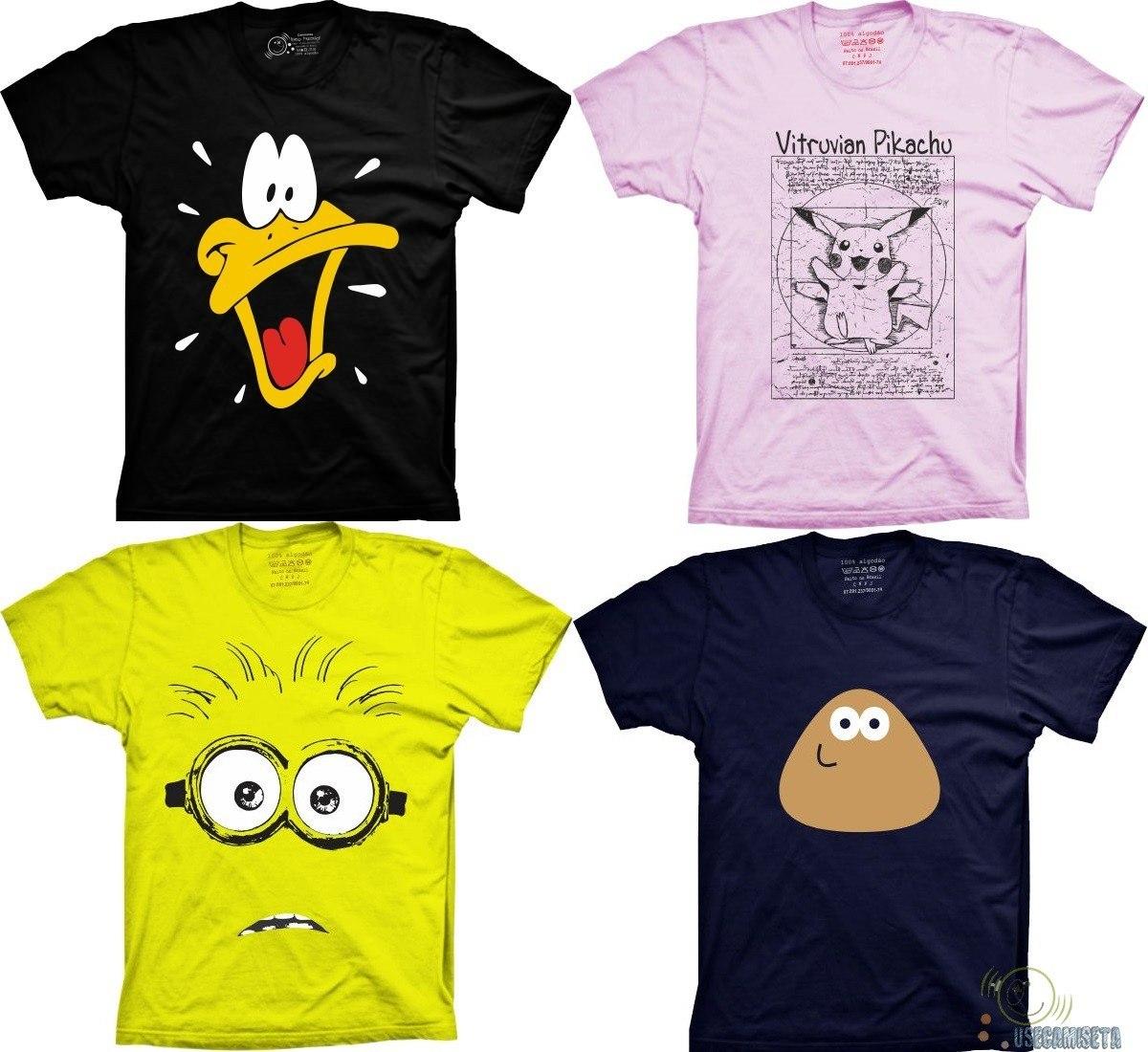 8236b0ad2 Camiseta pato desenho anime camisa blusa de animação filme jpg 1200x1100  Desenhos de camisas