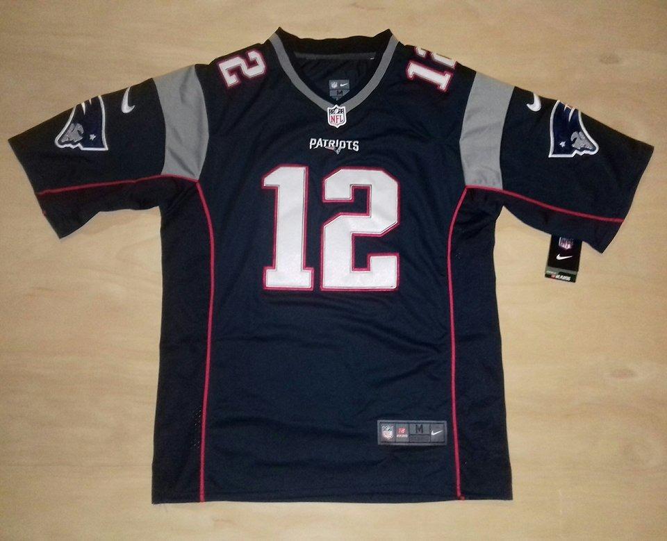 Camiseta Patriots -  12 Brady - Talles M-l-xl -   2.800 2c8db12af2f