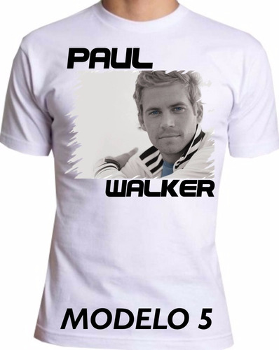 camiseta paul waker, velozes e furiosos, se you again m-5