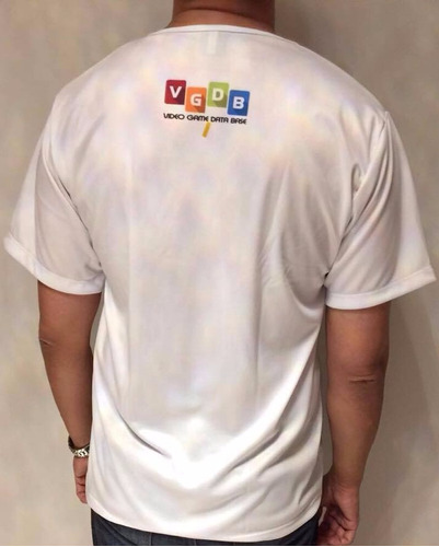 camiseta pc engine vgdb