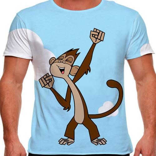camiseta peixonauta zico masculina