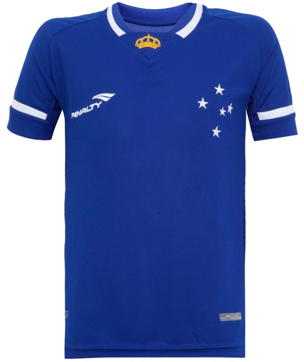 Camiseta Penalty Do Cruzeiro I 2015 Masc. Original 1magnus - R  68 ... 5bf3ef3ba2fef