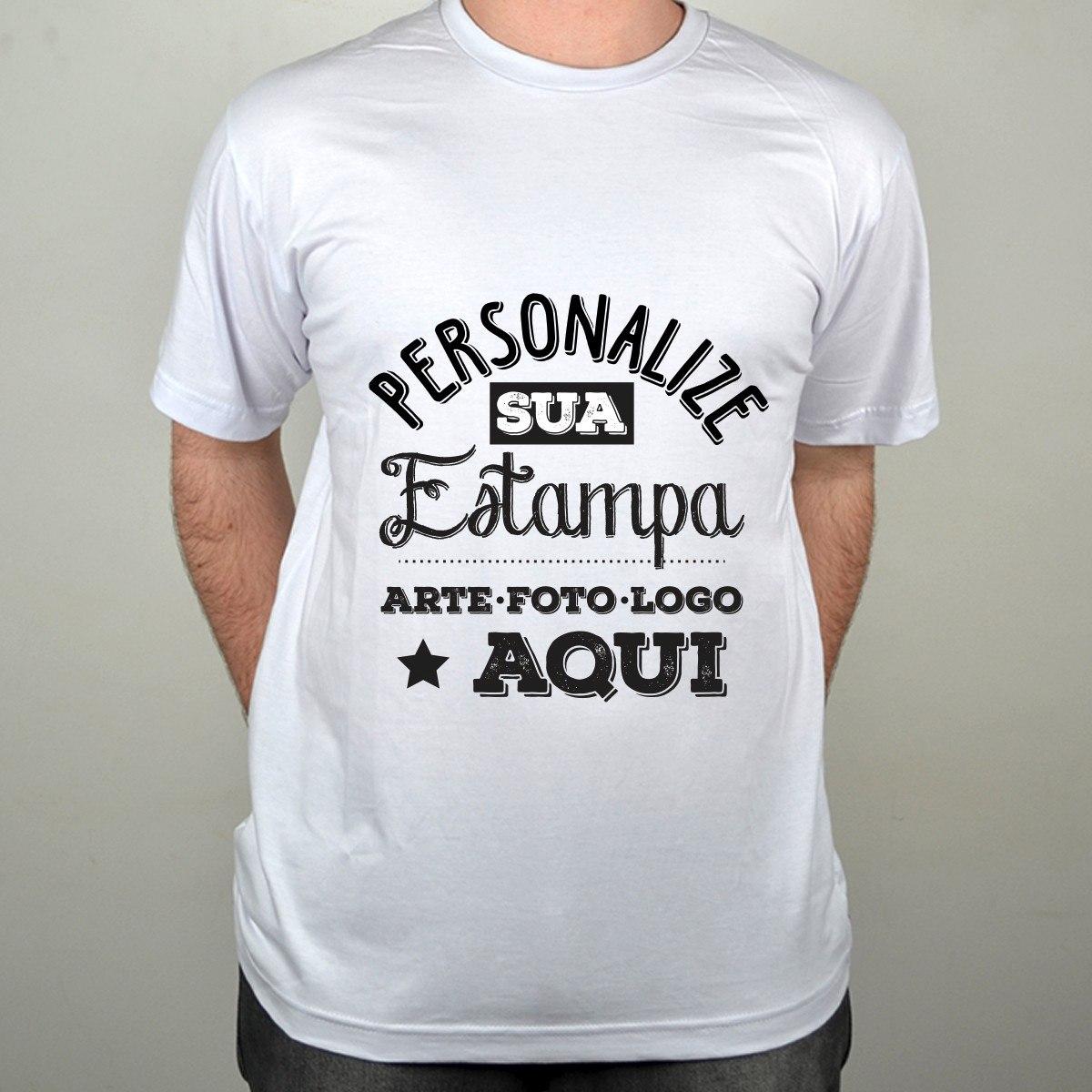a72a9c084 camiseta personalizada 100% algodão impressão dtg. Carregando zoom.