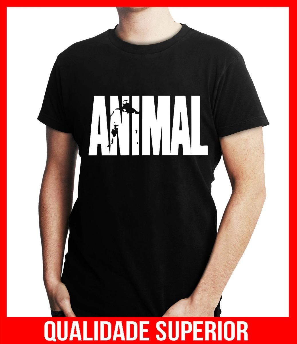 45e206338 camiseta personalizada animal gym academia musculação. Carregando zoom.