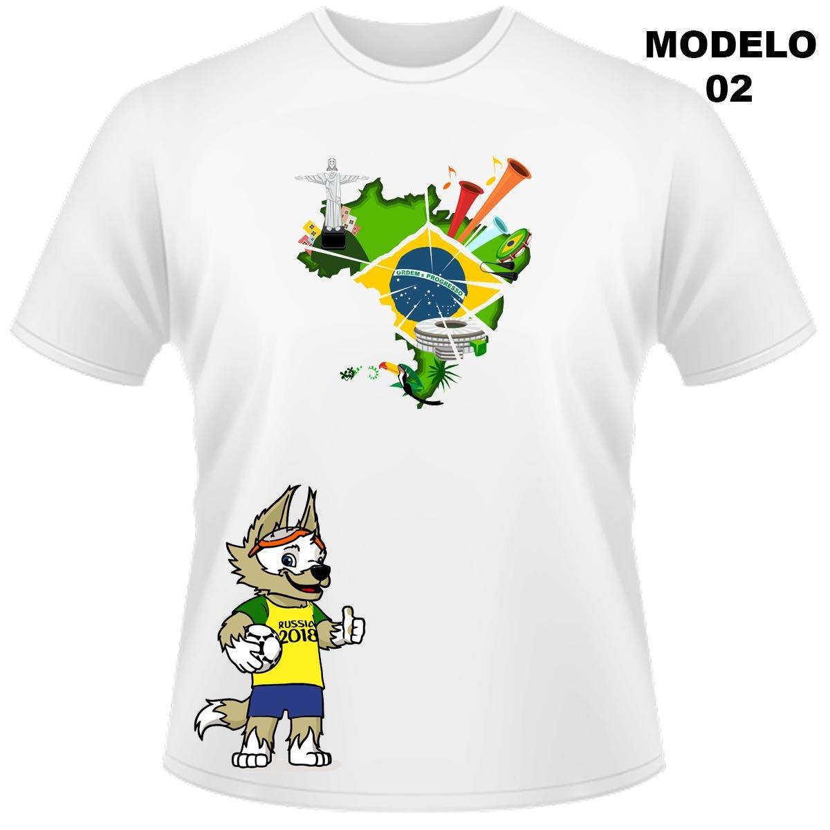 camiseta personalizada brasil copa 03. Carregando zoom. 018842b4d7241