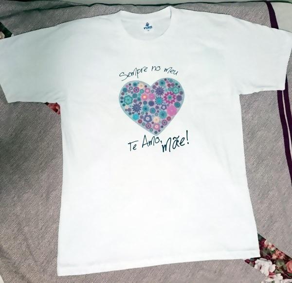 Camiseta Personalizada C Frase Presente Feliz Dia Das Mães