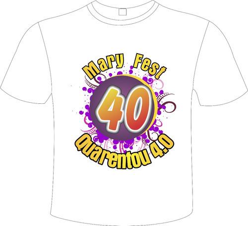 camiseta personalizada c/ sua estampa evento festa abada
