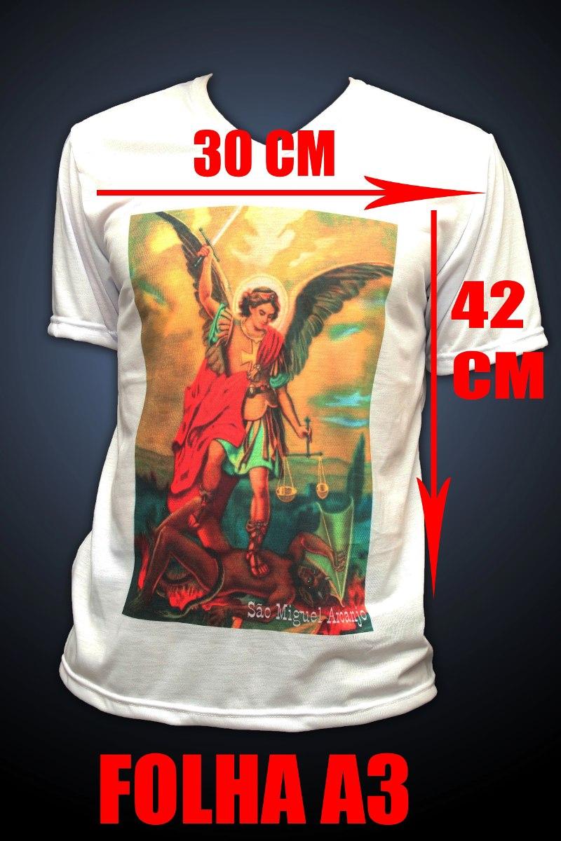 camiseta personalizada com estampa 30x42 - frente e costa. Carregando zoom. 3eb22b458a