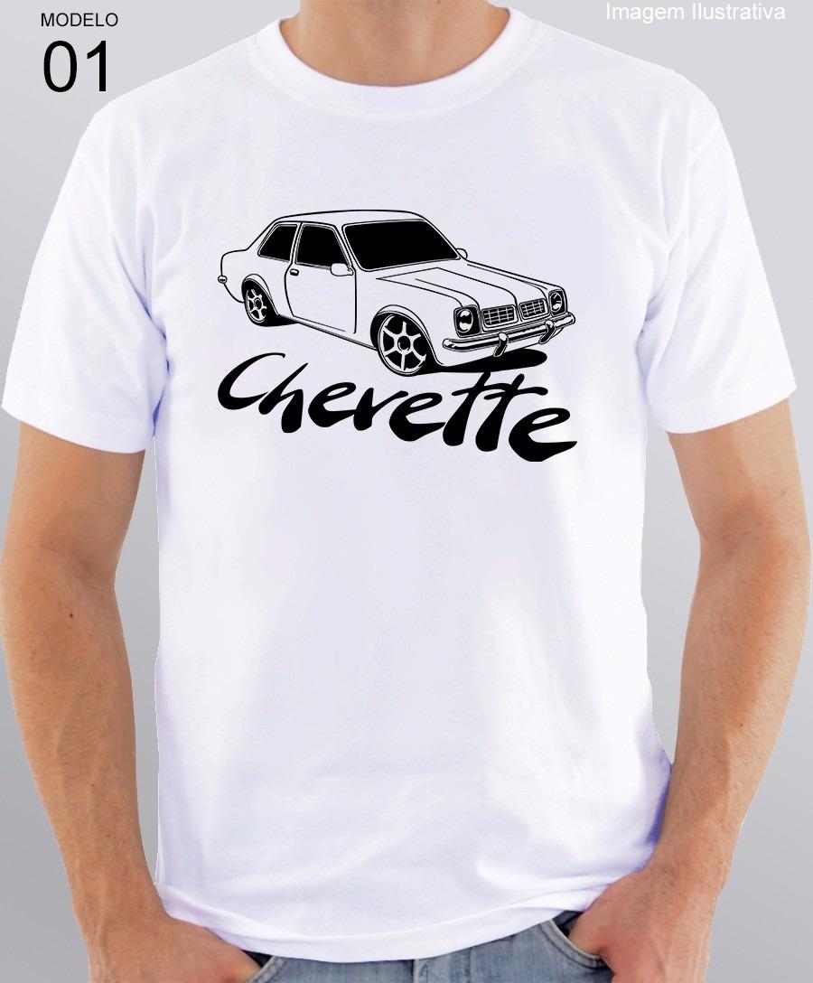 5d1b25fcb camiseta personalizada com estampa de carro chevette. Carregando zoom.