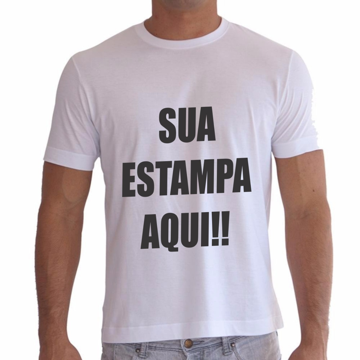 a2d32e3a8 camiseta personalizada com sua estampa foto imagem festas. Carregando zoom.