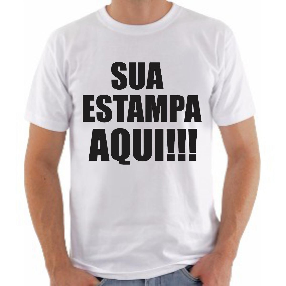 Camiseta Personalizada Com Sua Estampa Foto Imagem Promocao - R  23 ... a85b6d279382d