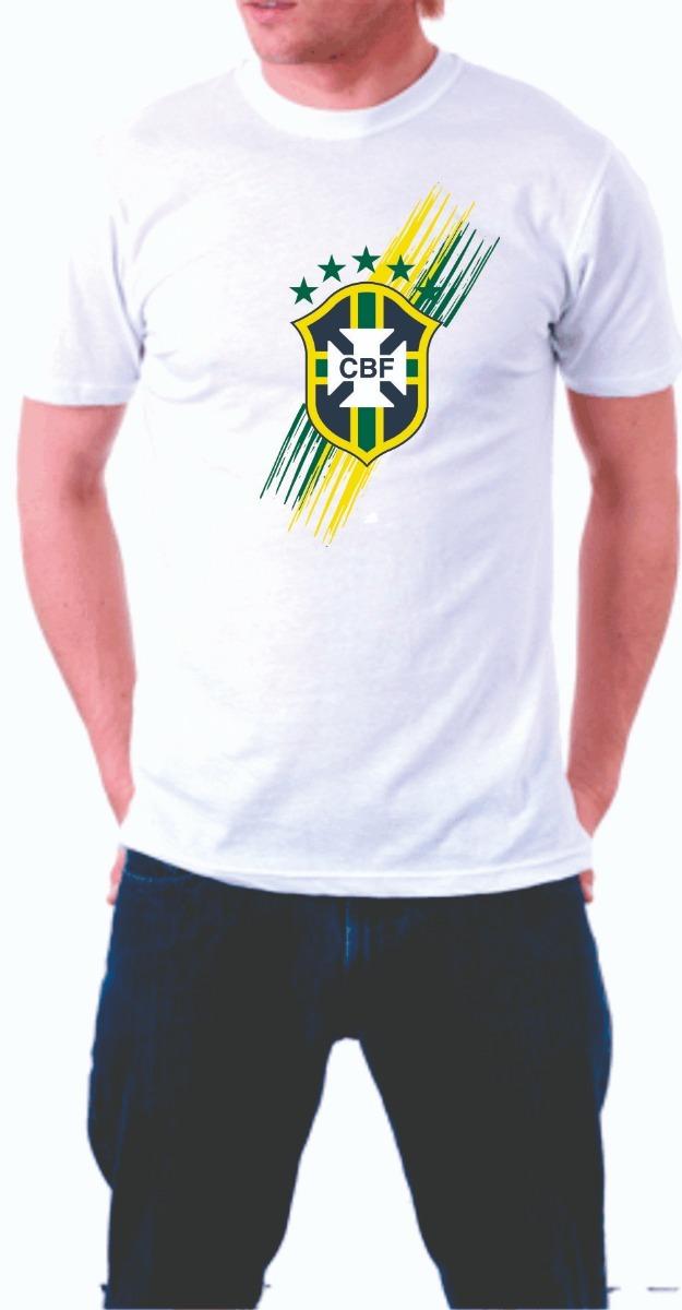 camiseta personalizada copa do mundo russia 2018 brasil. Carregando zoom. 7463ee26cac94