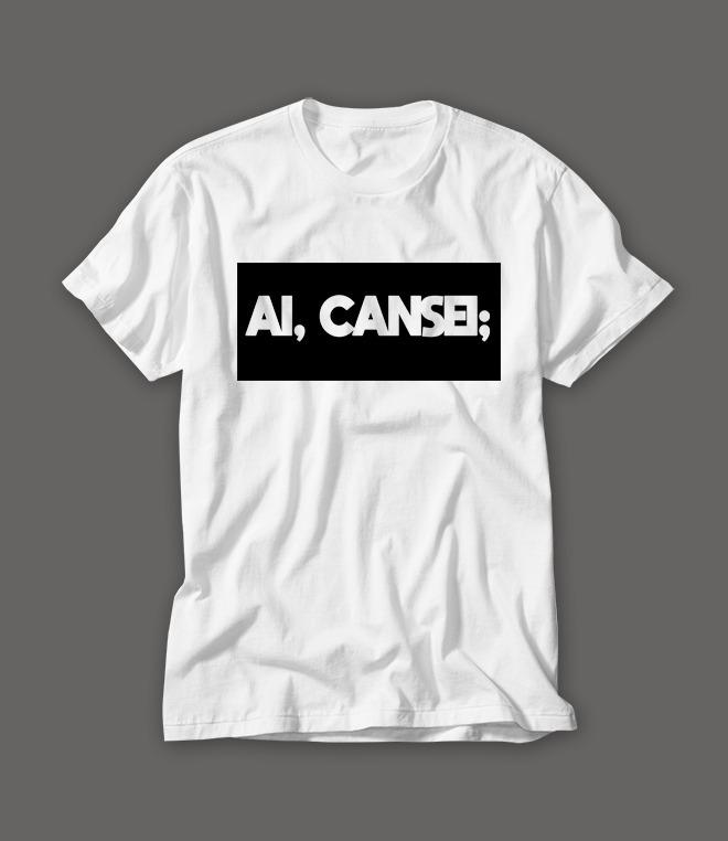 Camiseta Personalizada Criativa Ai e17aff59319c4