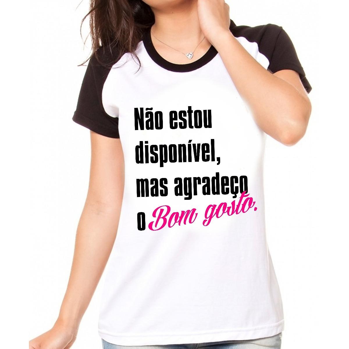 b8d3fbcbe camiseta personalizada criativa não estou disponível. Carregando zoom.