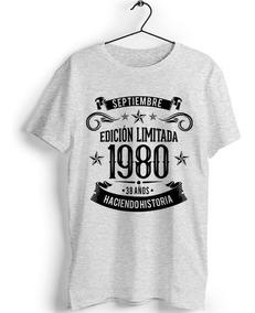 modelado duradero Moda mejor elección Camiseta Personalizada Cumpleaños Edición Limitada Leyendas