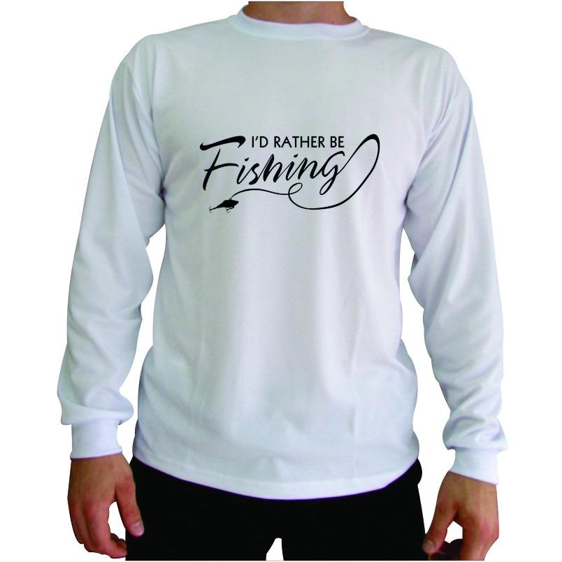 camiseta personalizada de pesca manga longa proteção uv. Carregando zoom. 5e8b291e03401