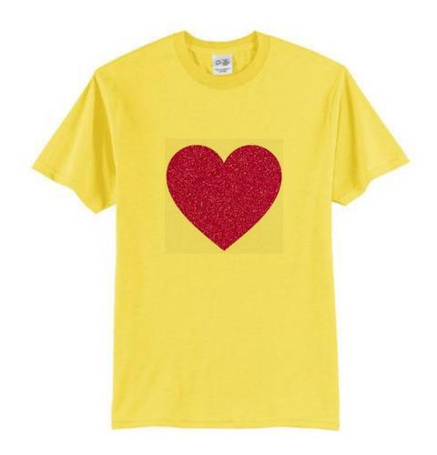 camiseta personalizada  em glitter