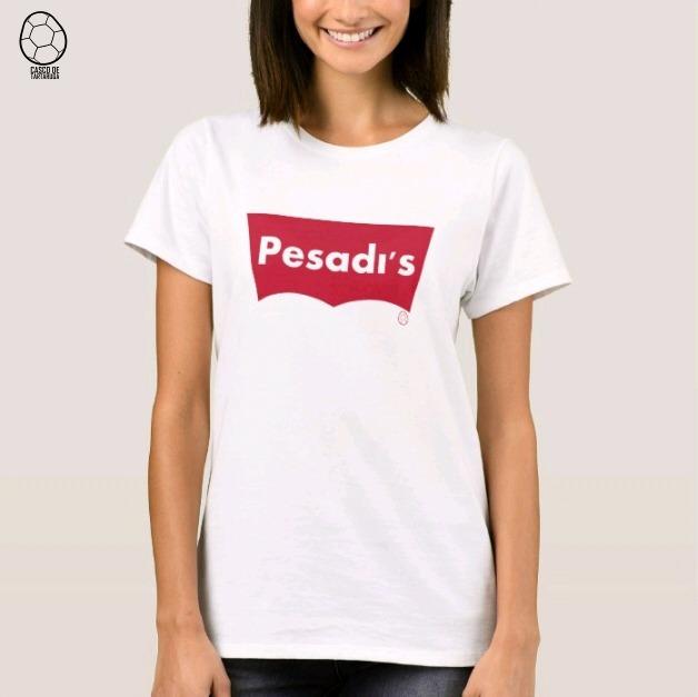 4fb4c9674 Camiseta Personalizada Feminina Pesadi s - R  29