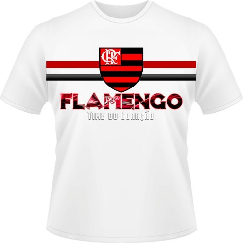 faa4344618122 Camiseta Personalizada Flamengo - R$ 24,87 em Mercado Livre
