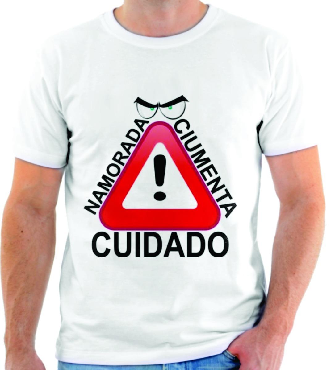 Camiseta Personalizada Frases Engraçadas Namorada Ciumenta R 55