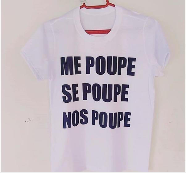 b26afbe9d Camiseta Personalizada Me Poupe Se Poupe Nos Poupe - R  23