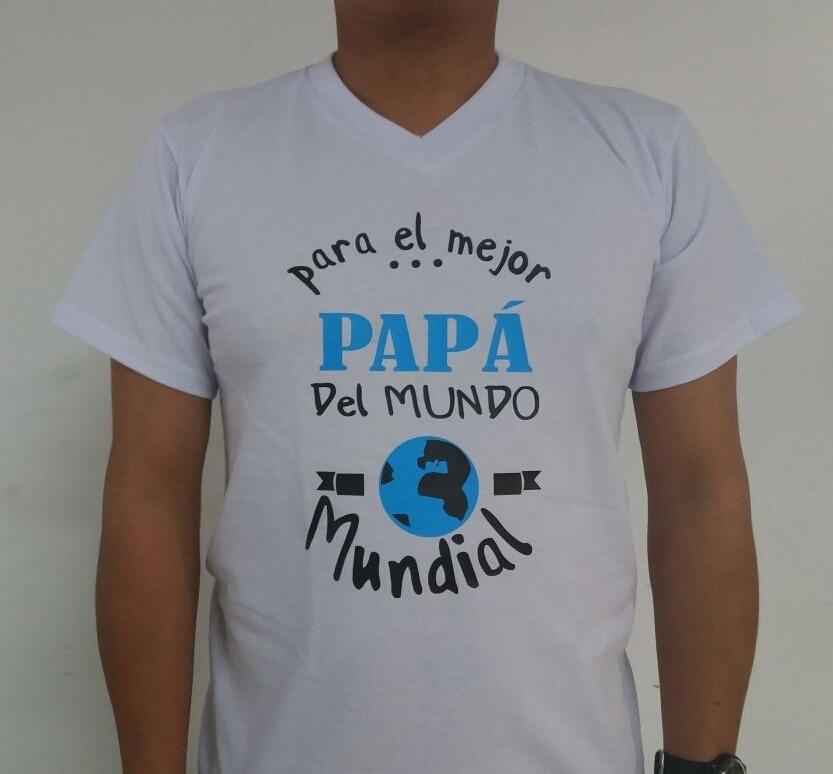 0bd10ceb8 Camiseta Personalizada Mejor Papá - Mejor Mamá -   35.000 en Mercado ...
