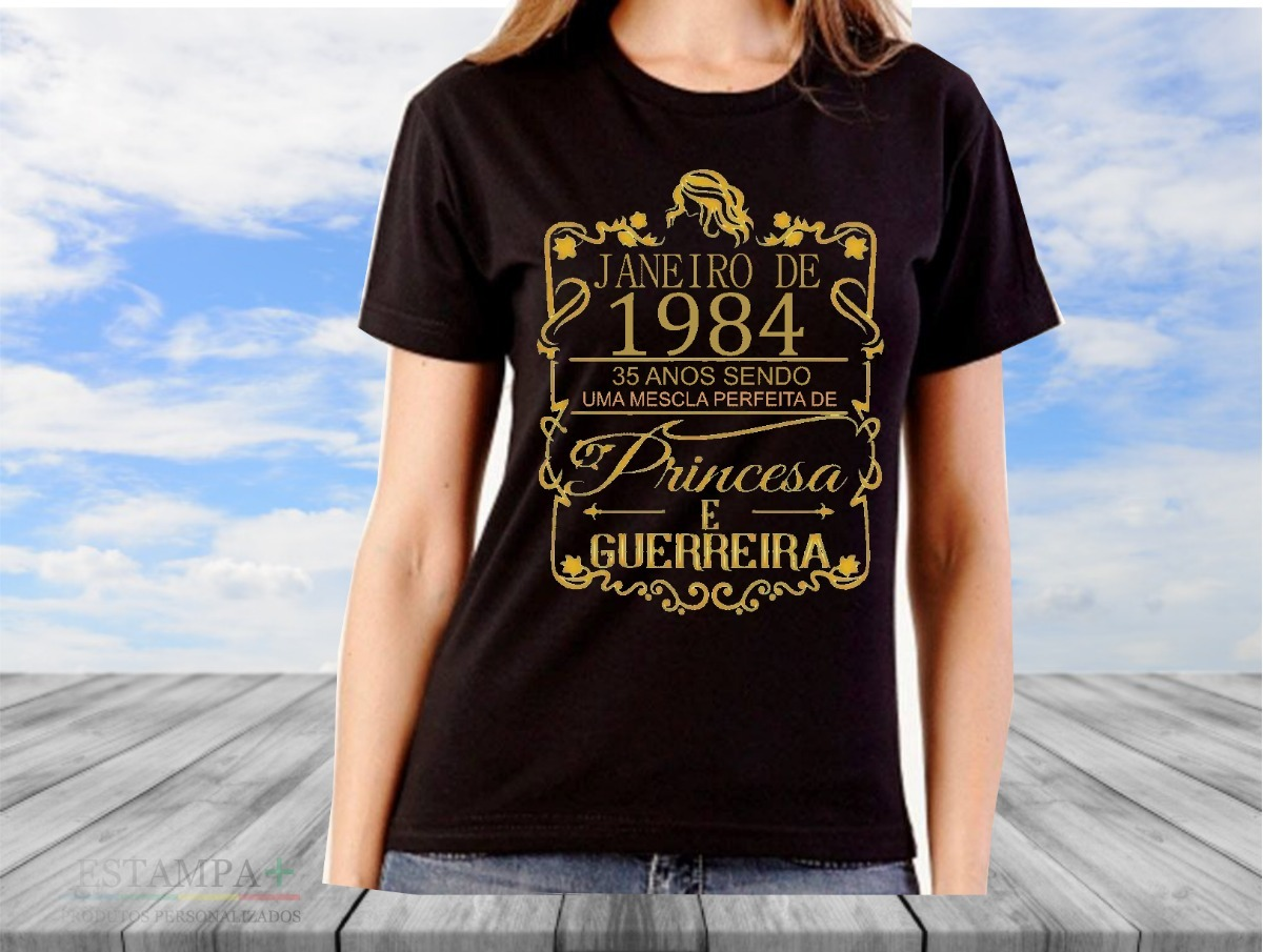 51b1fb9a2 camiseta personalizada mês do aniversário. Carregando zoom.