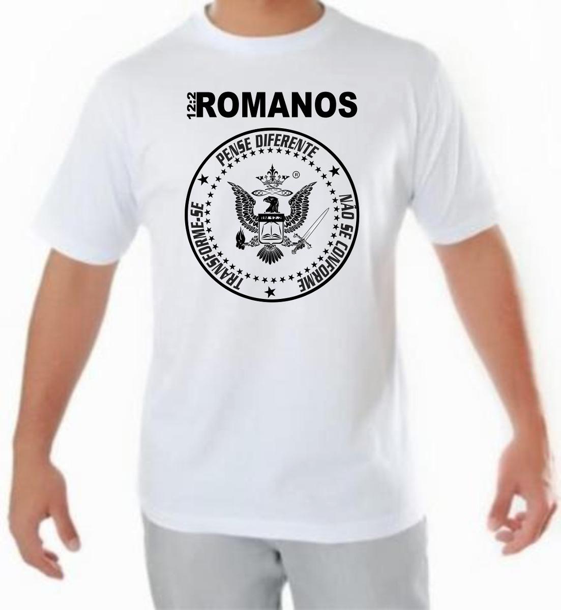 Camiseta Personalizada Romanos 12 2 - Dlr - Gospel - R  35 6d50b49dc0233