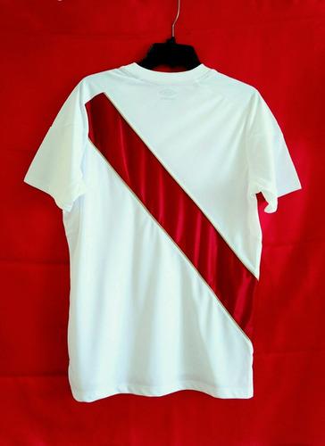 camiseta peru blanca mundial rusia 2018 talla s m l xl