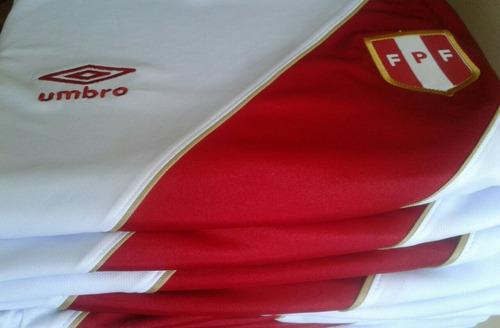 camiseta perú rusia 2018 material original