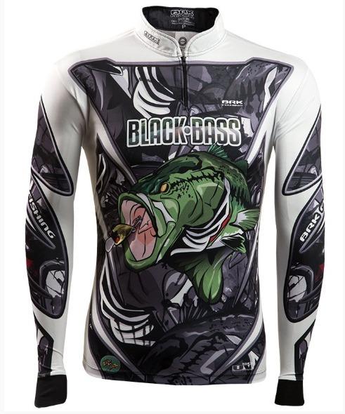 5332d729c Camiseta Pesca Brk Black Bass Master Fpu 50+ Tamanho Gg - R$ 171,99 ...