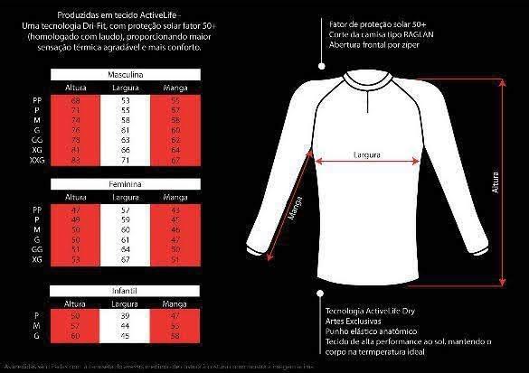 96ec85eb0 Camiseta Pesca Feminina Brk Sensitive Com Fps 50+ Tamanho Gg - R ...