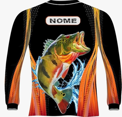 camiseta pesca fit