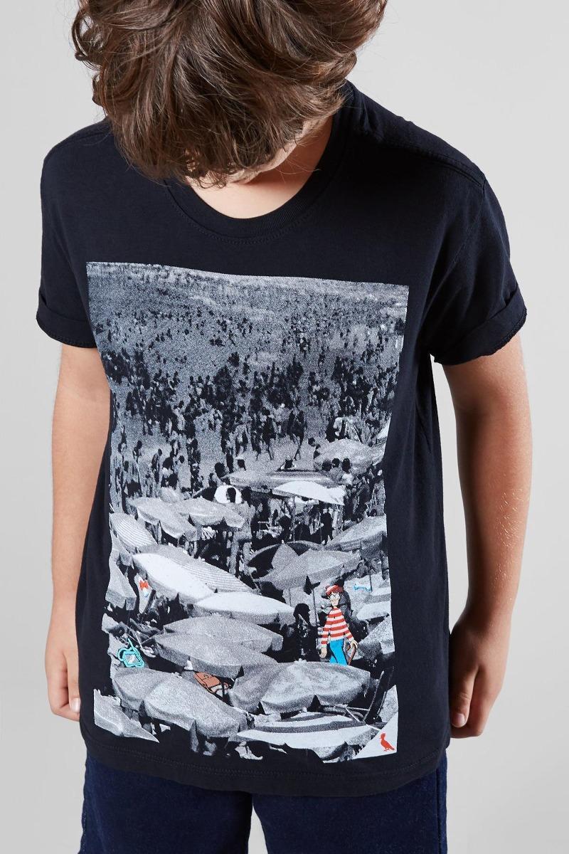 02bdf0902f Camiseta Pf Mini Wally Praia Reserva Mini - R  119