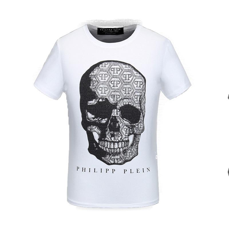 Philipp Branca Camiseta Plein Caveira Em Original R219 90 tsQxrdhC