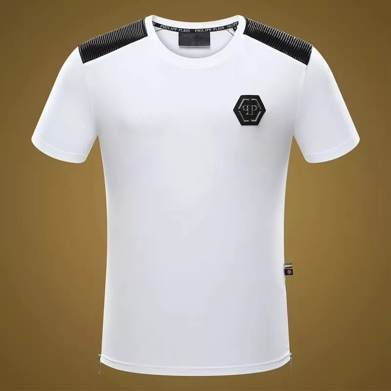 0b2850ce8b camiseta philipp plein pp branca masculina promoção 40%off. Carregando zoom.