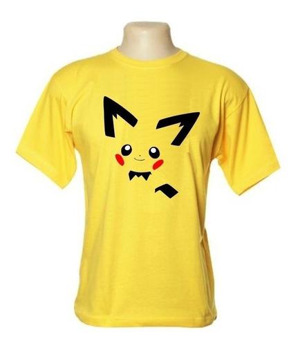 camiseta pichu - pokémon- wimza