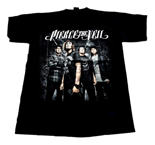 camiseta pierce the veil importada rock activity talla m