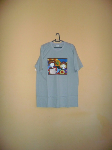 camiseta pintada à mão tradicional unisexo ref. 332
