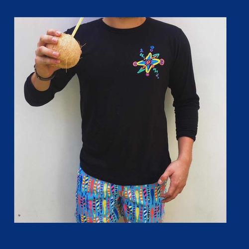 camiseta playera- bandera del mar
