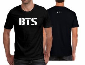 8700e00548c9 Camiseta Playera Bts Kpop Letras