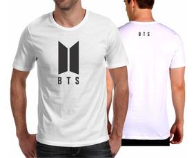 540a28e5e07a Camiseta Playera Bts Kpop Logo
