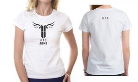 dcc134bdc4d0 Camiseta Bts Kpop Para Mujer en Mercado Libre México